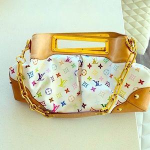 Louis Vuitton Multicolor Canvas Judy GM bag